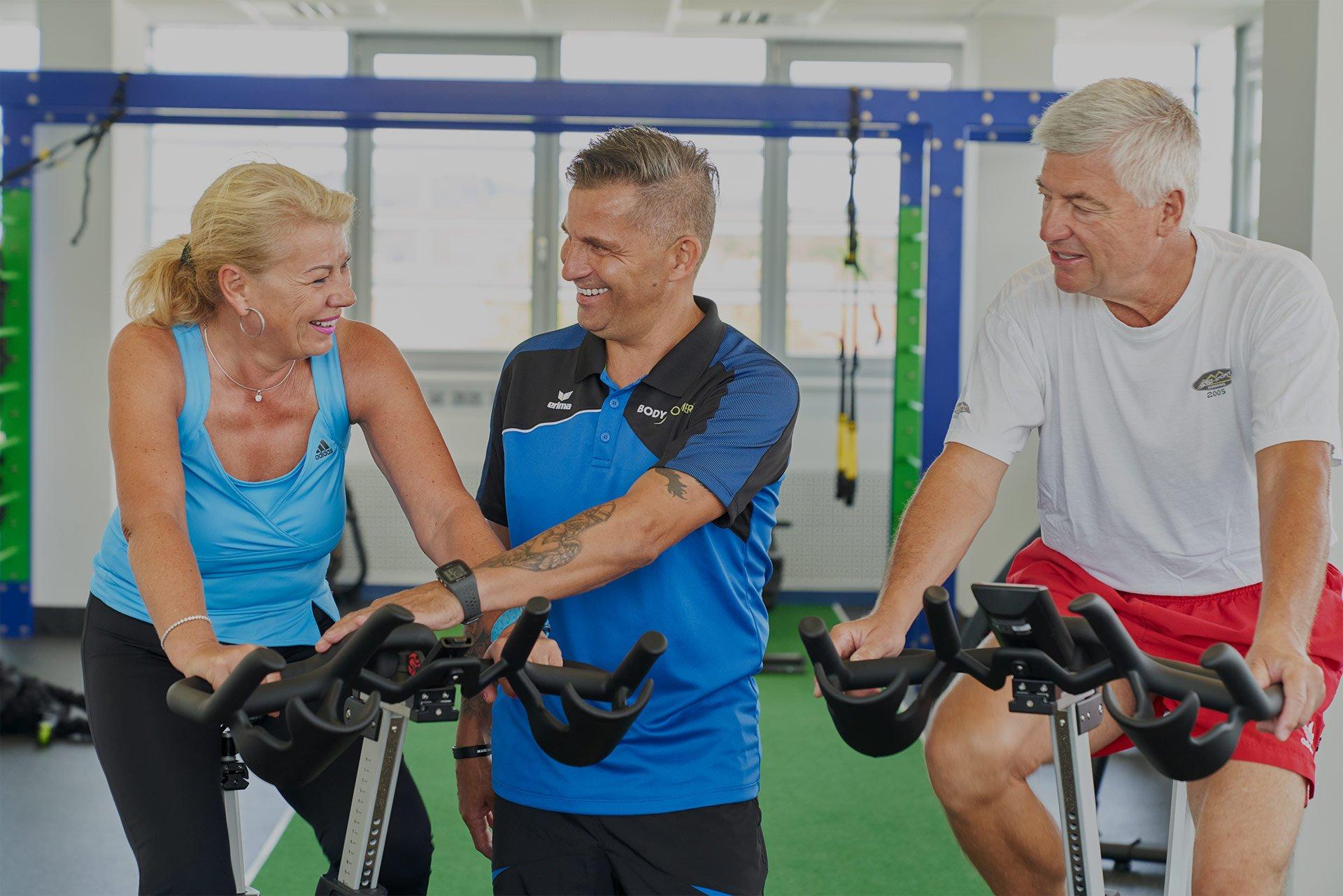 Persönliches Training - Wir nehemen uns für unsere Mitglieder Zeit und unterstützen sie